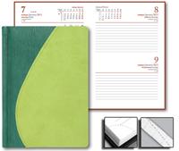 Ежедневник Green 15x21 Credo датированный светло-зеленый