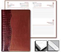 Ежедневник Cardinal 15x21 Credo датированный коричневый