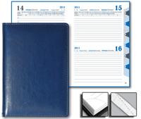 Ежедневник Optima 15x21 Sinergy датированный синий