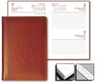 Ежедневник Optima 15x21 Credo датированный коричневый