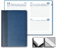 Ежедневник Prizma 15x21 Sinergy датированный синий