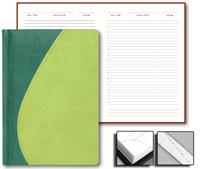 Ежедневник Green 15x21 Credo, недатированный, светло-зеленый