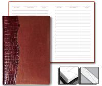 Ежедневник Cardinal 15x21 Credo недатированный коричневый