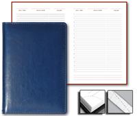 Ежедневник Optima 15x21 Credo недатированный синий
