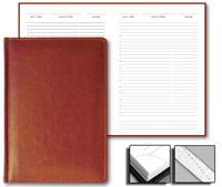 Ежедневник Optima 15x21 Credo недатированный коричневый