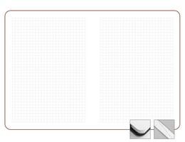 Записная книжка 9x13 см Freenote в клетку