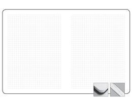 Блокнот в клетку, 10.5x14 см City