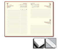 Ежедневник Credo 15x21 датированный, тонированный