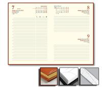 Ежедневник Credo 15x21 датированный, тонированный, золотой обрез