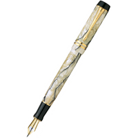 Parker Duofold F186 Internatinal Pearl & Black перо F, M