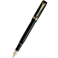 Parker Duofold F74 International Black GT перо F