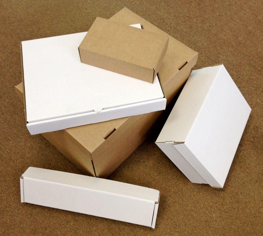 продажа картонных коробочек оптом
